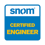 Tp Technology - certificazioni: Snom, Certified Engineer