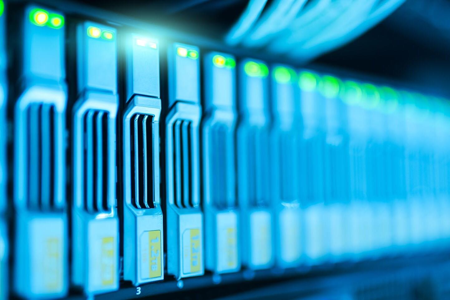 rete informatica aziendale gestita con nas, antivirus e firewall